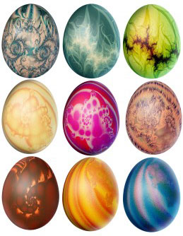 Easter-eggs-painted
